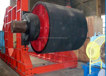 PU coated drum motor used as belt conveyor drive pulley