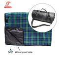 All-Purpose Extra Large Roll up Outdoor Picnic Blanket with Water-Resistant Backing