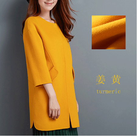 Consinee 90% Wool 10% Cashmere fabric wholesale fabric for winter coat