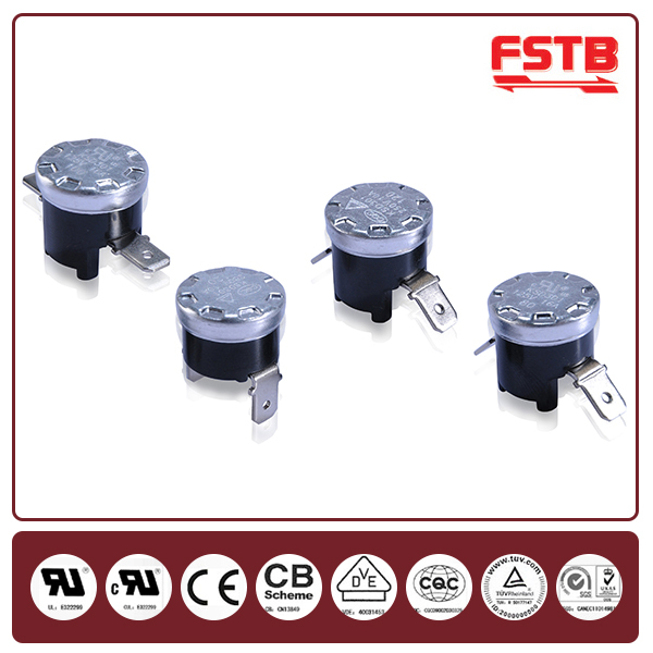 FSTB KSD301 250V 5A/10A/16A Bimetal Thermal Cutout Thermostato Home Appliance Parts