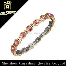 shamballa japanese bead blood pressure magnetic bracelet from china