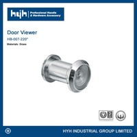 Guangdong supplier high quality peephole door viewer / modern style door eye viewer