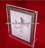 Crystal digital photo picture poster frame gift