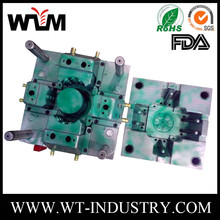 Mold city factory offer cheap customized plastic mold plastic injection mold for water tank outlet