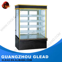 2016 Factory supply low noice mini refrigerated cake cabinet