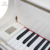 Artmann White Baby Grand Piano GP148