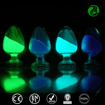 Water based glow in the dark pigment phosphorescent glowing strong pigment