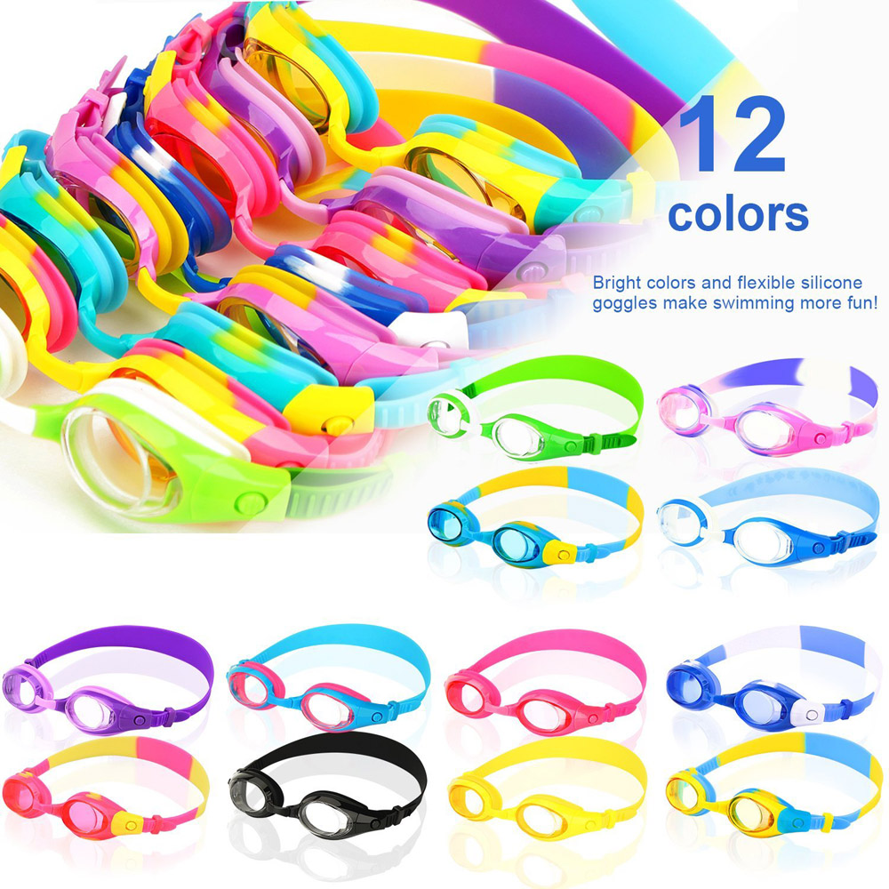 Famous brands free shark kids swimming goggles