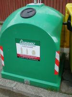 Waste Separation Container 1.1 cubic meter