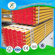 different types of beam formwork and h20 timber concrete shutters form work materials in china