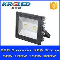 High lumen waterproof rgb led outdoor flood light 12v in solar systems