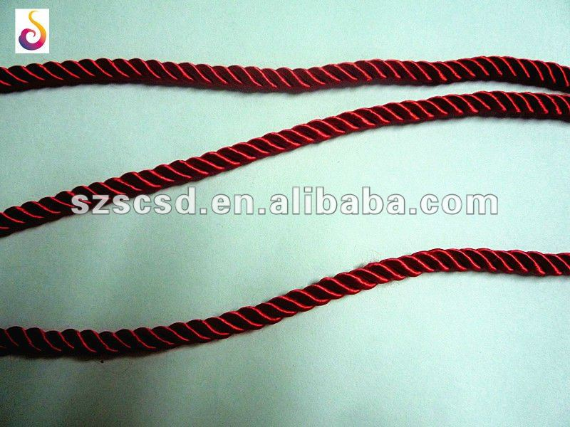 3-strand twisted rayon rope