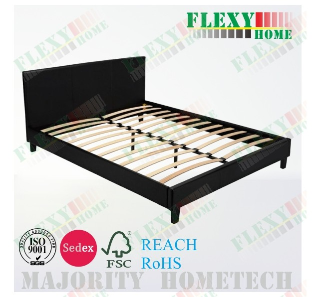 Wooden leather BED FRAME SOFT BED Upholsted Bed
