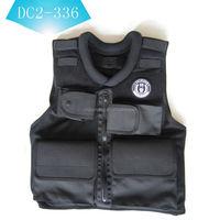 black bullet proof vest/jacket