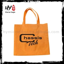 Customized foldable recyclable printed non woven shopping bags