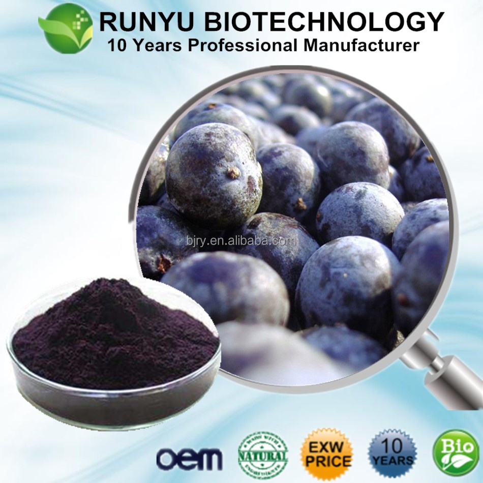 2017 New batch Acai Berry powder Extract, Euterpe oleracea extract with natrual Vitamin C powder