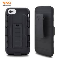 NDhouse newest portable slim fit hard pc silicone case for iphone 8