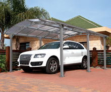 modern various single carports car shelter with aluminum frame