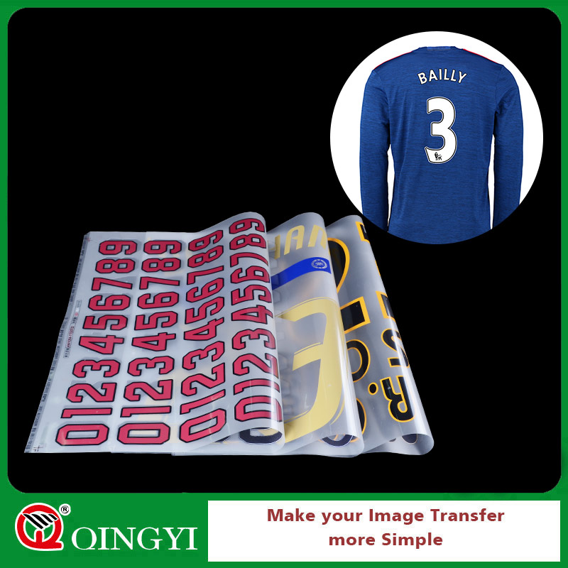 QingYi screen printing heat press letters for t-shirt