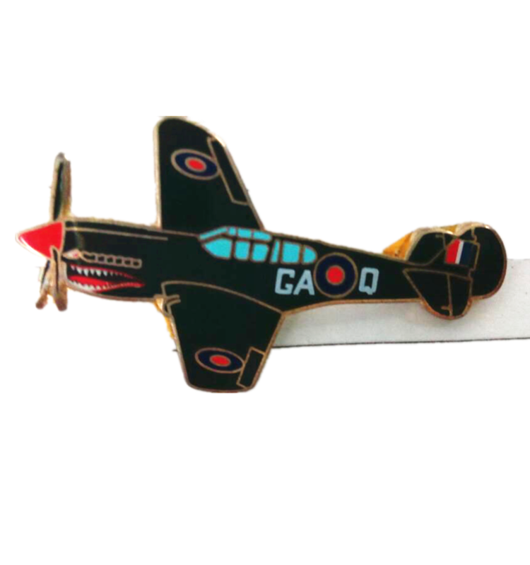Custom Mini Airplane Shape Laple Pin 3d Coat Pin Plane Hat Pin for Pilot
