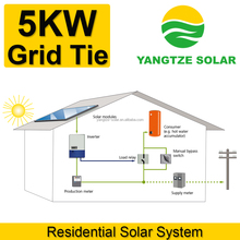 5kw grid tie solar power supply system