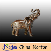 Household crafts copper furnishing articles house adornment art pure copper elephant NTBA-E0369R