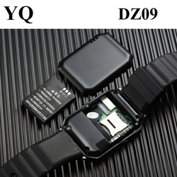 In stock! 2016 hottest sim card android smart watch phone dz09 smart watch