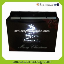 Impressive company promotion gift LED lighted bag