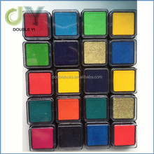 Colorful mini craft ink pad , eco-friendly small ink stamp pad