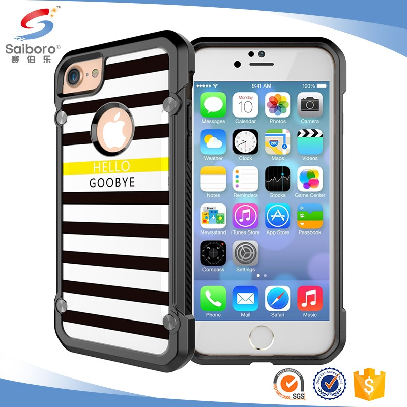 Free sample back cover case for iPhone 6s