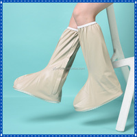 new fancy kneeboot shoes cover products with flap slip resistant