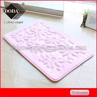 Nwashable foam non-slip foot massage door floor mat