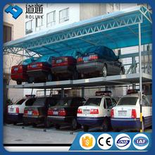 china famous multilayers mechanical lift slide car parking system