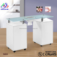 vented manicure tables wholesale / manicure table vacuum and nail salon furniture N053