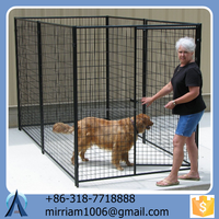 2015 Made in China Rolling fence pet cages fancy dog kennel(Anping Baochuan)