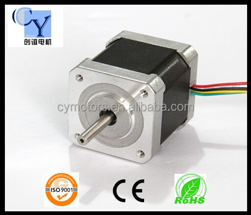 Nema 17 stepper motor size 42mm hybrid stepper motor buy for Nema stepper motor sizes