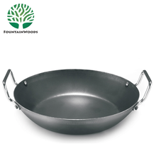 High Quality Chinese Big Carbon Steel Nonstick FDA SGS LFGB Certification Air Frying Pan