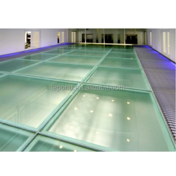 Hot Sale Large Slipresistant Glass Panels Antislip Glass Panel - Glass floor panels for sale