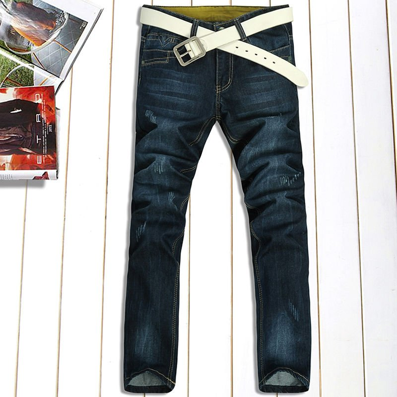 100%cotton mens fashion jeans (075)