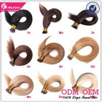 Wholesale price virgin hair 2 gram i tip hair extension