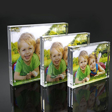 high quality professional export clear acrylic block photo frame