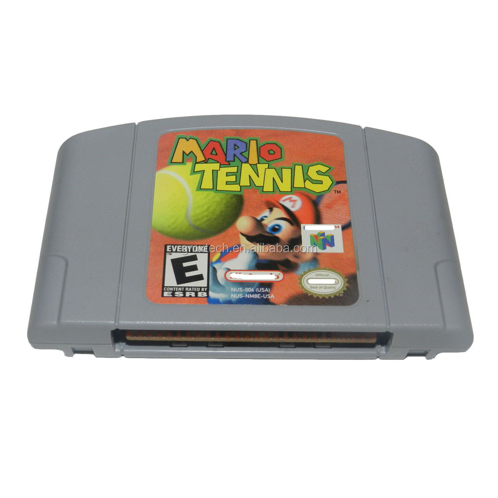 Best Christmas gifts for kids video game N64 Mario Tennis