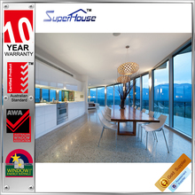 AS2047 standard anti-noise fixed glaze floor to ceiling windows