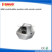 Cheap stage effect machine 60W small bubble machine sale