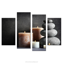 Zen HD Photo Canvas Prints Multi Panel Modern Home Wall Decoration Canvas Art for Living Room Bedroom Stretched Home Goods
