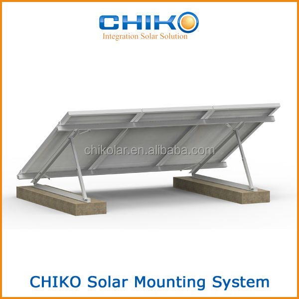 Flat Roof Solar Mounting Kit