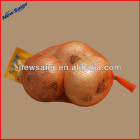 agricultural packaging vegetable potato onion garlic firewood, orange bag small mesh bag