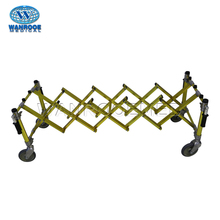 GA102 Foldable X-frame Aluminum Material Funeral Cemetery Coffin Trolley Church Truck