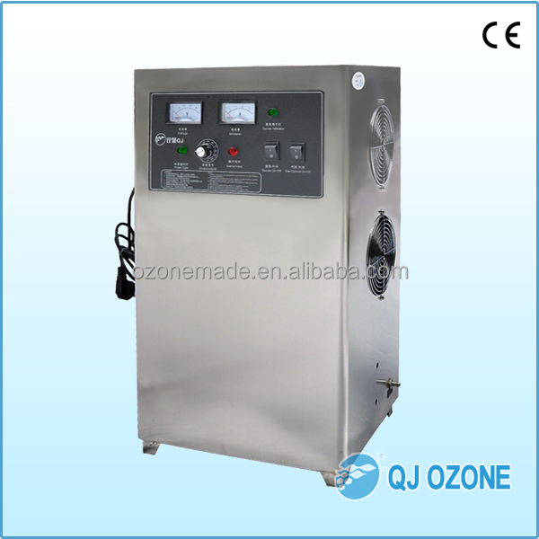 QJ-8007K-20A Quanju O3 ozone generator for car gas treatment and car inner odor removal