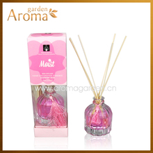 New design 80ml home fragrance car reed diffuser